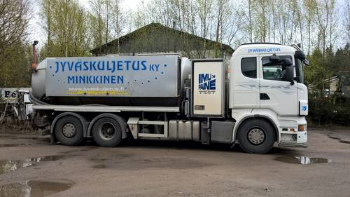 Imu-paineauto Scania R 560